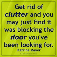 Clutter Katrina Mayer