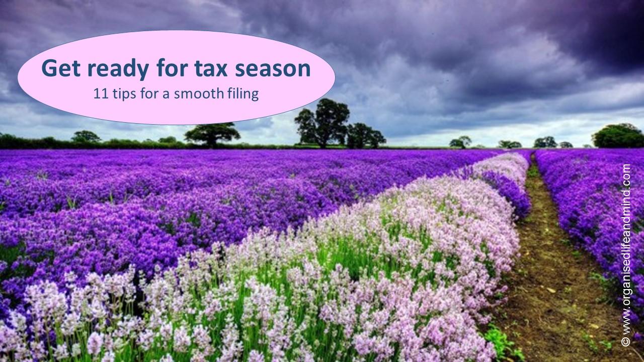 Get ready for tax season