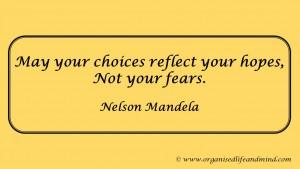 Mandela choice