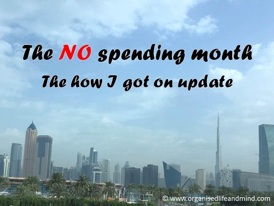 No spending update