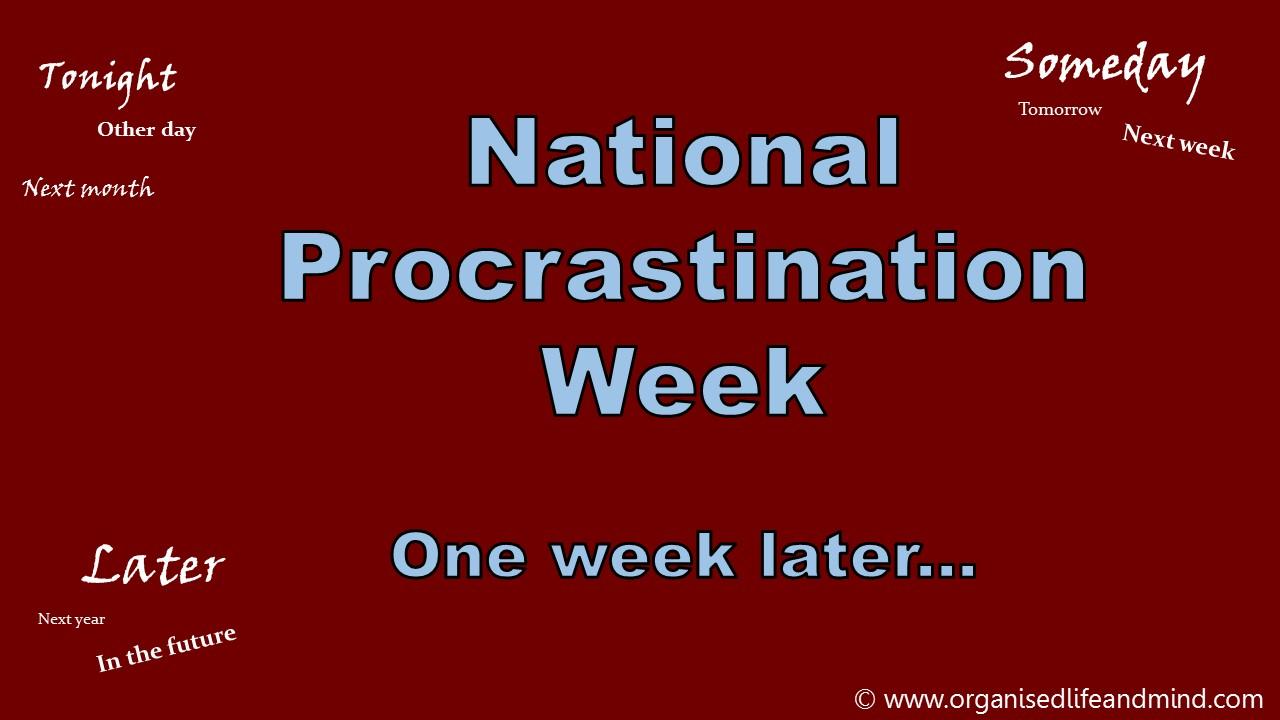 Procrastination Header
