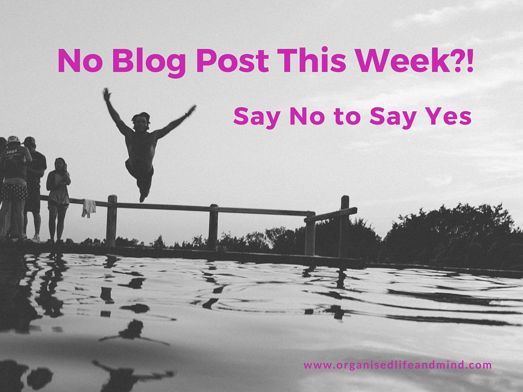 No Blog Post This Week-