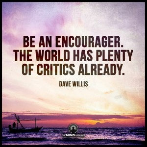 Encourager saturday quote
