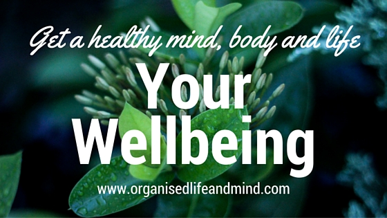 Wellbeing healthy body mind life