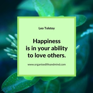 Saturday quote Happiness quote from Tolstoy