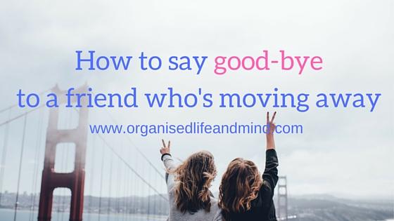 Say good-bye