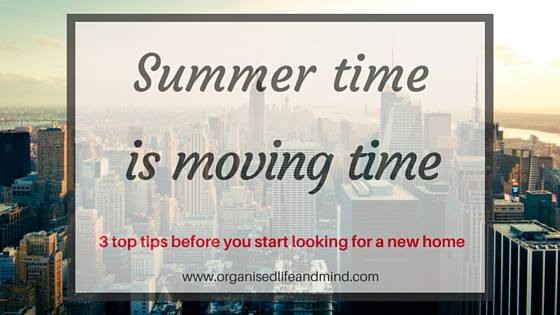 Summer time is moving time