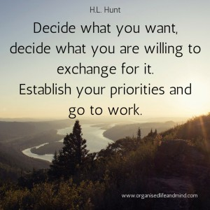 Saturday quote: Decide what you want