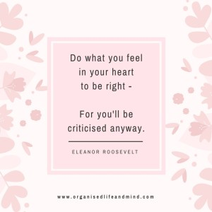 Saturday quote: Do what you feel in your heart to be right