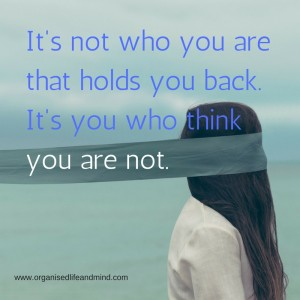 Saturday quote: It's not who you are