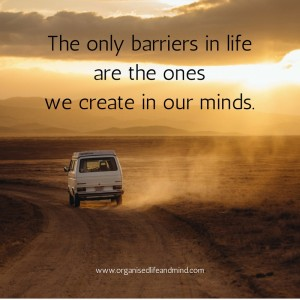 Saturday quote: The only barriers in life
