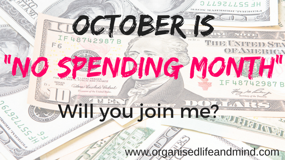 Stay social No spending month