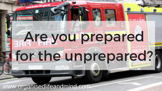 Are you prepared for the unprepared