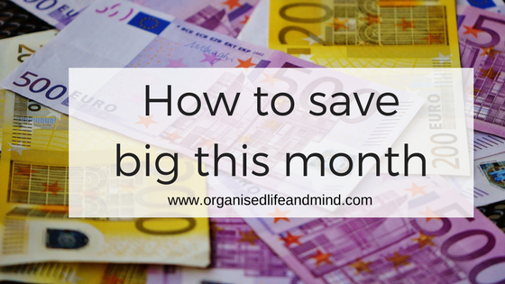 How to save big