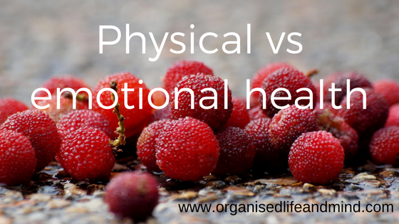 Physical vs emotional health
