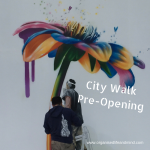 City Walk Pre-Opening creative creativity