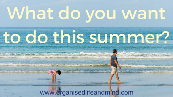 What do you want to do this summer