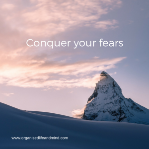 Conquer your fears scares comfort zone