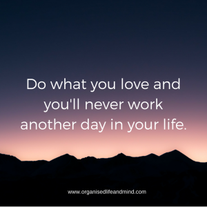 Do what you love quit