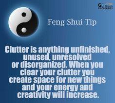 Feng Shui Clutter