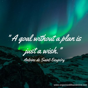 A goal without a plan Saturday quote