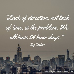 Lack of direction Saturday quote