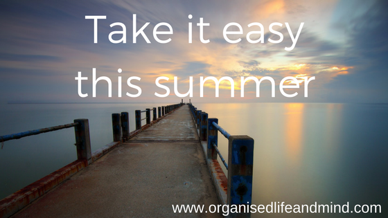 Take it easy this summer