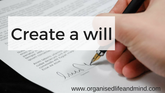 Create a will