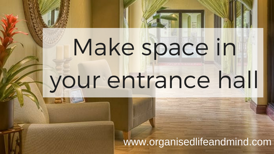 Make space in your entrance hall