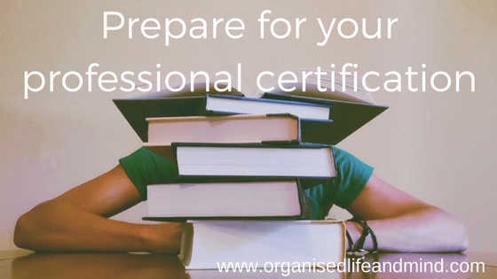 Prepare for your professional certification