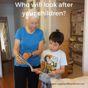 Who will look after your children create a will