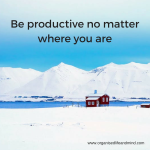 Be productive time