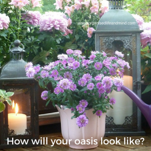 How will your balcony oasis look