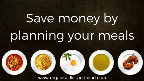Save money by planning your meals