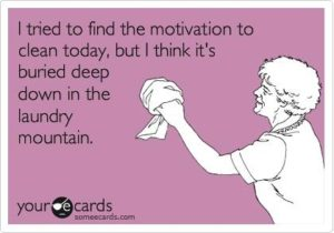 Cleaning Motivation Saturday quote