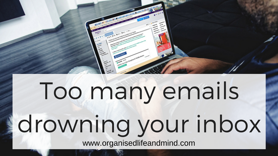 Too many emails drowning your inbox