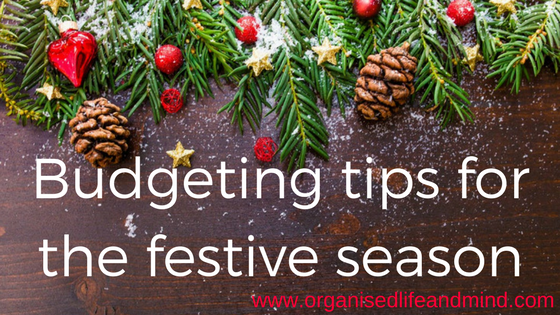 Budgeting tips for the festive season