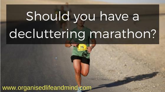 Should you have a decluttering marathon_