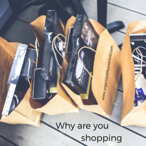 Why are you shopping decluttering marathon