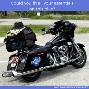 Could you fit all your retirement essentials on this bike