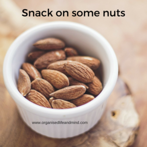 Snack on some nuts master your time