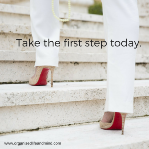 Take the first step today special moment