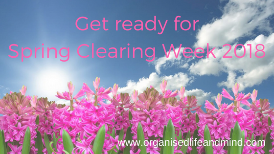 Get ready for Spring Clearing Cleaning Week 2018