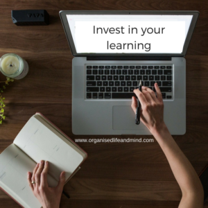 Invest in your learning website crash