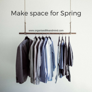 Make space for Spring this March