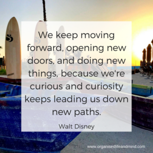 We keep moving forward Try something new