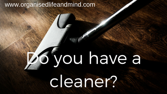 Do you have a cleaner
