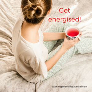 Get energised do nothing