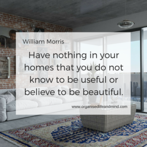 Have nothing in your home clear your clutter