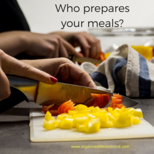 Who prepares your meals hire a cleaner